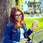 Blog Humor : 5 Reason's Why You Shouldn't Blog at Work