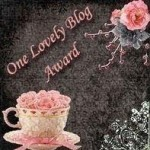Thank you So for the Lovely Blog Award