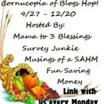 Cornucopia of Blog Hops ~ Featured Blogger