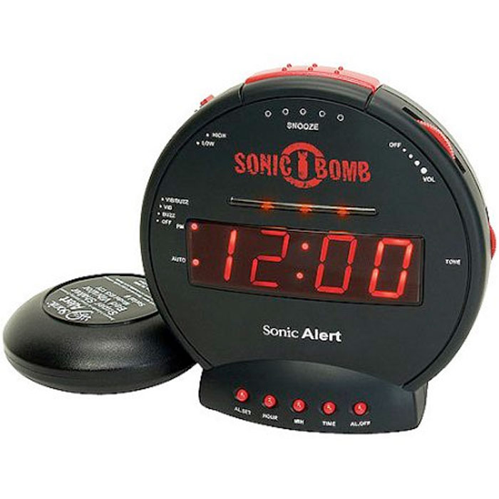 Sonic Bomb Alarm Clock Review
