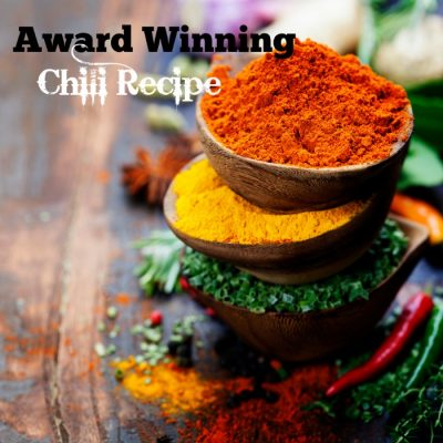 Chili Recipe : Award Winning and Healthy