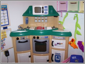 fisher price kitchen set