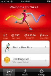 Nike Plus iPhone Application