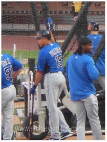 carloss beltran and jose reyes batting practice