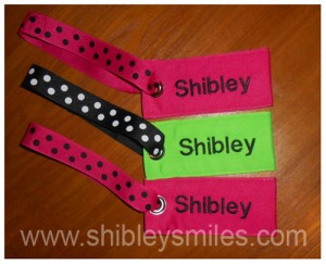custom made luggage tags