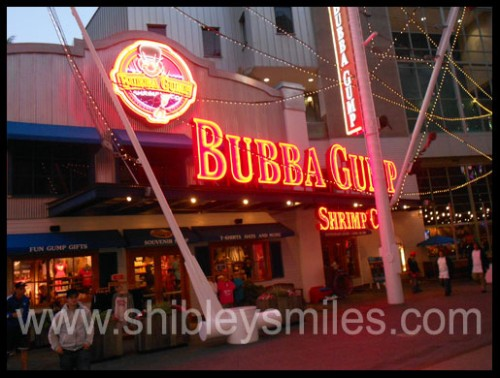 Bubba Gump Universal Studios Hollywood