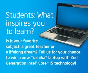 Win an Intel Laptop