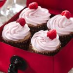 Rosé Wine Cupcakes  Recipe