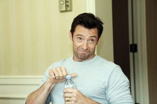 Candid Photos Hugh Jackman Real Steel