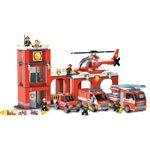 Mega Bloks Blok Squad Fire Patrol Station
