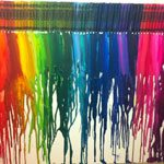 Our Melted Crayon Art Project and Tips
