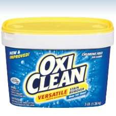 Oxiclean Stain Remover Experiment