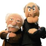 Muppet Mania : Statler and Waldorf