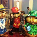 Alvin, The Chipmunks, and The Shibleys : Wordless Wednesday