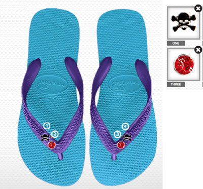 Custom and Personalized Flip Flops