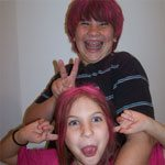 Silly Pink Punk Rockers : Wordless Wednesday
