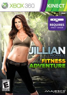 Jillian Michaels Fitness Adventure Kinect Game Review