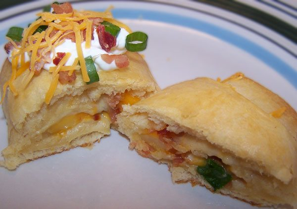 pillsbury crescent roll recipe loaded potato puff