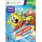 Spongebob Surf and Skate Roadtrip XBox Kinect Game Review
