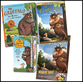 The Gruffalo Prize Pack Giveaway : (Ends 4/1)