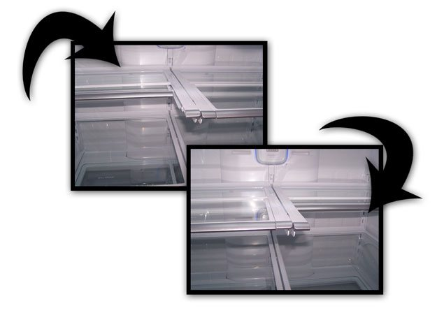 Kenmore Grab N Go 31 cubic feet refrigerator
