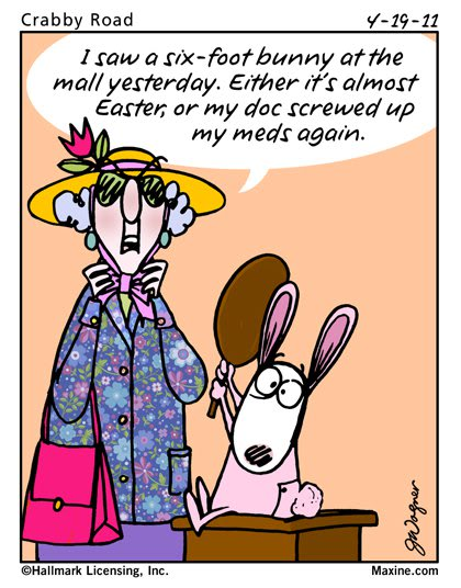 maxine easter funnies jokes
