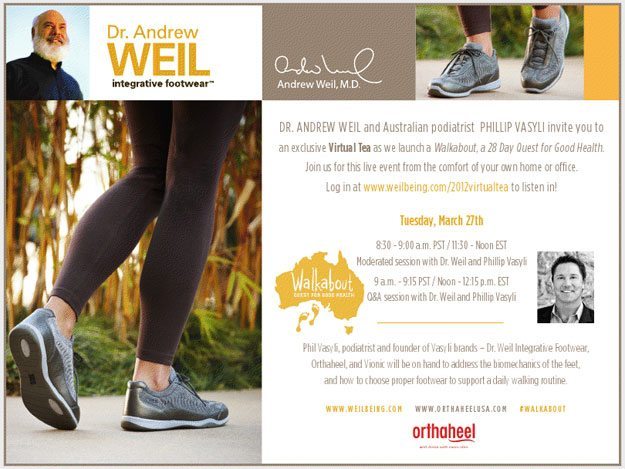 28 Day Walkabout with Dr. Weil