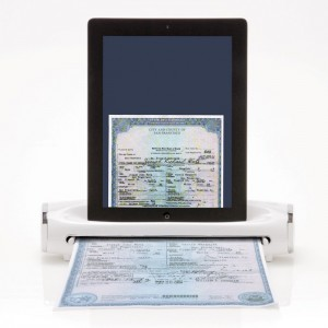 icovert scanner for ipad from brookstone