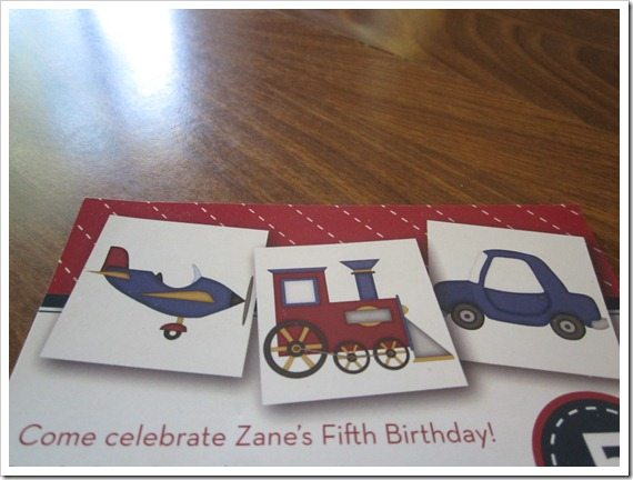 PaperSnaps Birthday Invitation