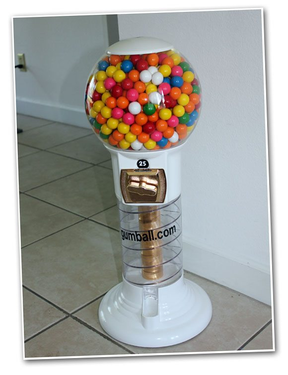 free gumball machine