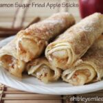 Cinnamon Sugar Fried Apple Sticks: $50 Visa Giveaway Ends (7/15)