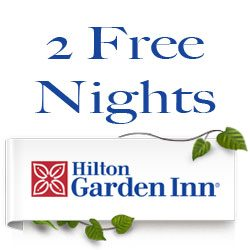Hilton Garden Inn 2 Night Stay Giveaway : (Ends 7/10)