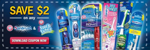 arm & hammer spinbrush coupon