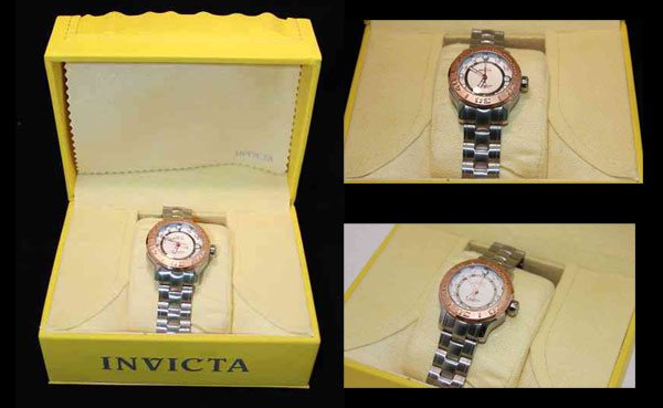 Invicta Women's Pro Diver Quartz Stainless Steel Bracelet Watch