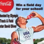Win a Field Day with Olympian David Oliver For Your School