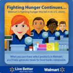 Help Fight Hunger at Your Local Walmart