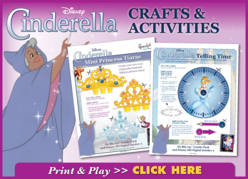 Cinderella Activity Pages