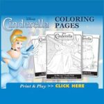 Free Printable Cinderella Activity and Coloring Pages