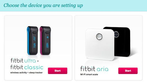 how to connect and setup fibit aria wireless scale
