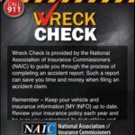 NAIC WreckCheck App $50 Gas Card Giveaway : (Ends 9/23)