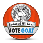 Vote Goat Win Products from Redwood Hill Farm