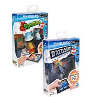 SpellShot zAPPed & Battleship zAPPed : iPad Games by Hasbro