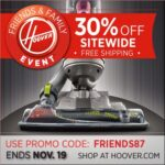 Huge Hoover Sale and Discount Coupon