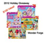 2012 Holiday Giveaway : $100 Wonder Forge Game Prize Pack : (Ends 11/27)