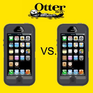 Case Wars: iPhone5 Otterbox Defender vs iPhone Otterbox Commuter Case