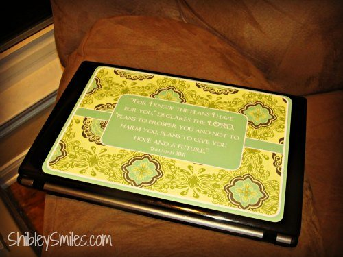 ScriptureArt Laptop Applique