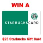 Reader Appreciation $25 Starbucks Gift Card Giveaway : (Ends 2/10)