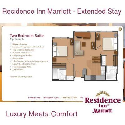 Savvy Travlers Stay at Residence Inn Marriott