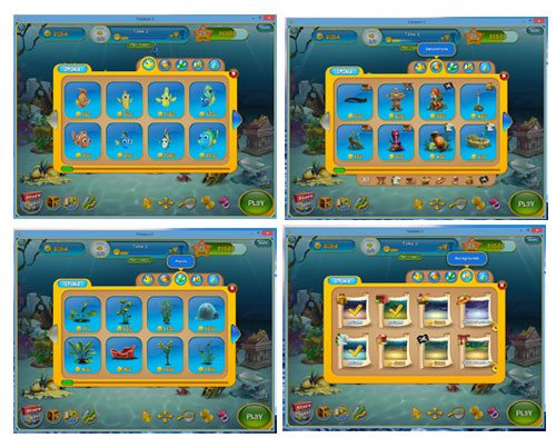 fishdom 3 screen shots