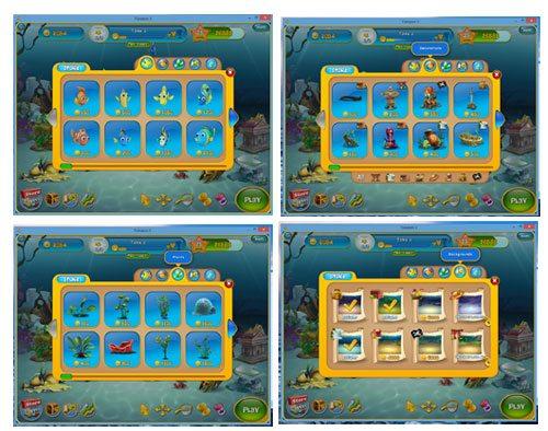 fishdom 3 screen shots